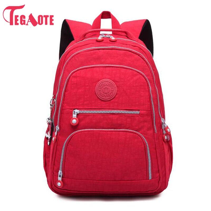 где купить NEW School Backpack for Teenage Girl Mochila Feminina Kipled Women Backpacks Nylon Waterproof Casual Laptop Bagpack Female Sac по лучшей цене