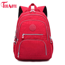 NEW School Backpack for Teenage Girl Mochila Feminina Kipled Women Backpacks Nylon Waterproof Casual Laptop Bagpack Female Sac