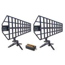 PS28 Antenna Amplifier 8 channels Signal Amplifier Antenna distributor system for Recording Interview Wireless Microphone