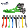Fx Cnc Dirt Motorcycle Brake Clutch Levers 9 Colors Aluminum For Gas Cap EC 2T 2000