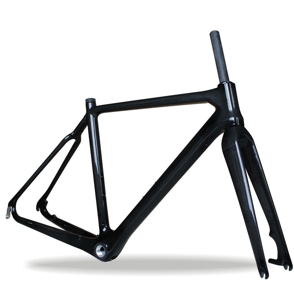 Cheaper Price cyclocross Bicycle Frame,160mm Disc brake CX Bike frame,T700 full Carbon fiber Bicycle Frame,160mm Disc Frame hot sale chinese cyclocross frame carbon cx frame di2 disc brake carbon cyclocross bike frame cx535
