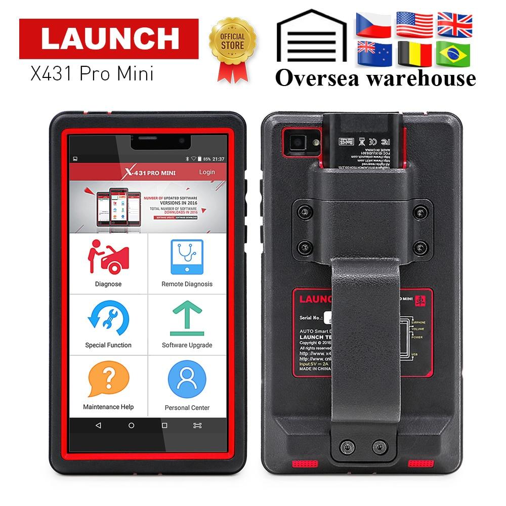 LANCEMENT X431 Pro Mini Systèmes Complets De Diagnostic Automobile scanner WiFi/Bluetooth X-431 Pro pros mini voiture Scanner 2 ans mise à jour gratuite