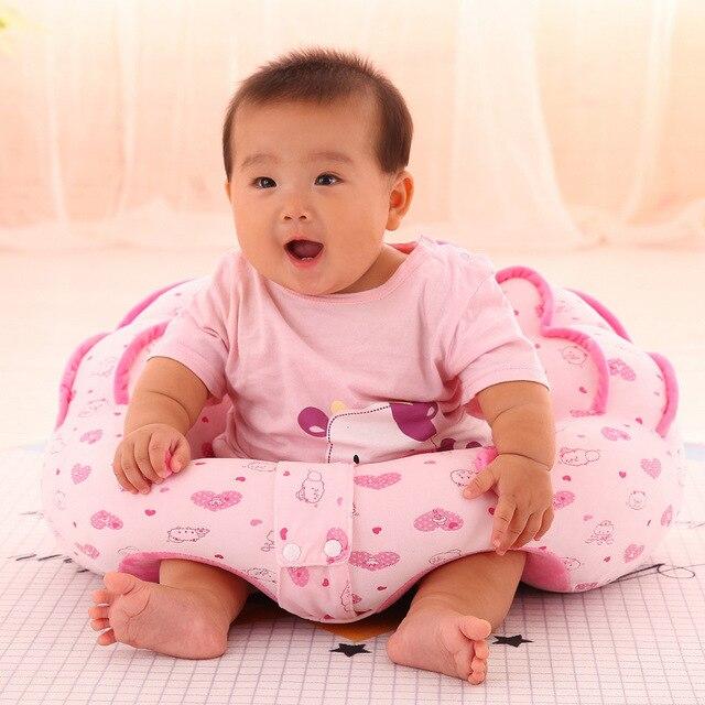 Baby Support Seat Cotton Baby Sofa Kids Plush Chair Boy Feeding Chair Children Inflatable Chair Baby Nest Sleeping Kids