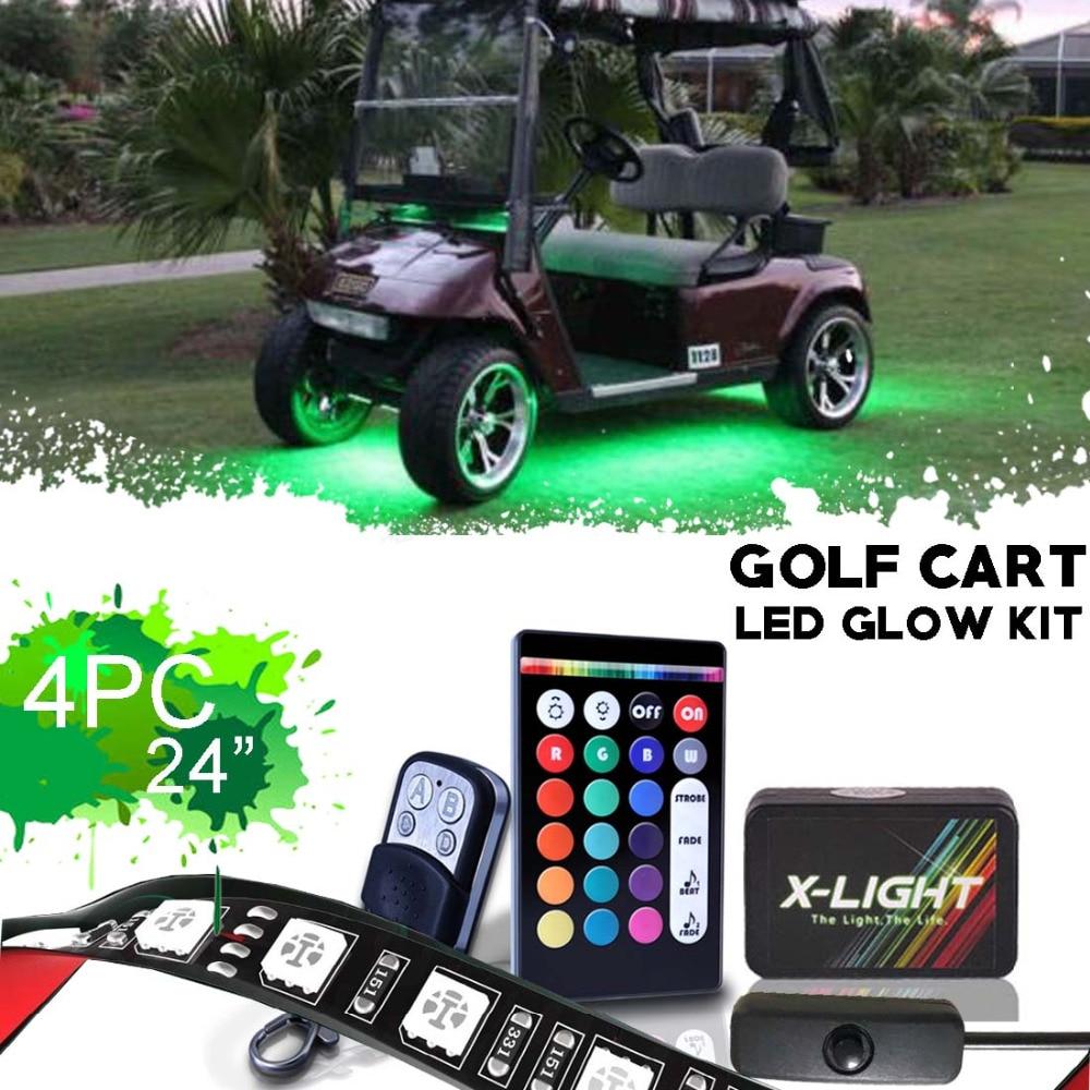 X LIGHT Golf Cart Underbody Glow LED Lighting Kit