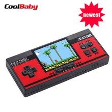 Yeni Taşınabilir FC/NES el oyunları dahili 348 Klasik Oyunları Konsolu 8 Bit Retro Için video oyunu Hediye Destek AV out Koymak