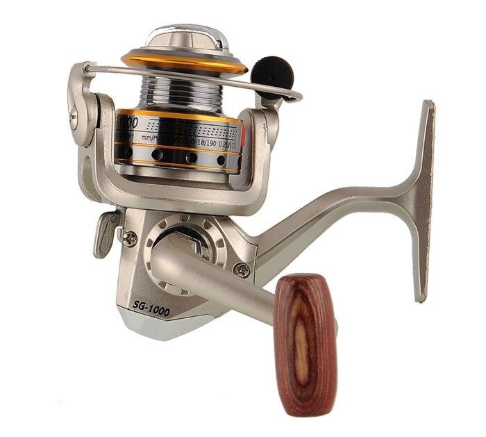 Sg1000a 6BB 5.1: 1 высокое качество давильные Рыбалка Катушка левый/правый Алюминий Рыбалка катушки 2000a 3000a