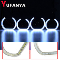 4X LED Angel Eyes 1992 2006 For BMW E90 Halo Ring Kit for Headlights