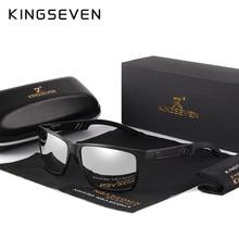 KINGSEVEN 2019 Aluminum Square Men/Women Polarized Coating Mirror Sun GlassesEyewear Sungla