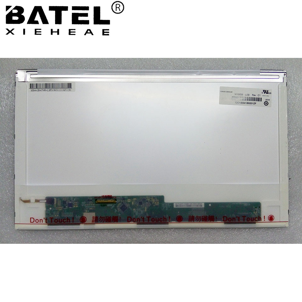 BATEL XIEHEAE N156B6 L0B Rev C1 1366 768 HD 40Pin LVDS Laptop LCD Screen LCD Matrix