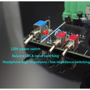 Image 5 - E600 Full Balanced Input Balanced Output Headphone amplifier TPA6120 Ultra low noise JRC5532 Op Amplifier board