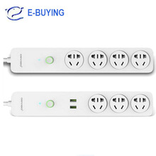 Orvibo Coco Smart WiFi Sockets Switches 2 USB Extension Remote Control Timing Plug Socket Power Strip Wifi Home application