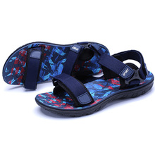 Men sandals 2018 Summer Men Black Beach Sandals high quality Unisex summer flat shoes sandalias para hombre Size