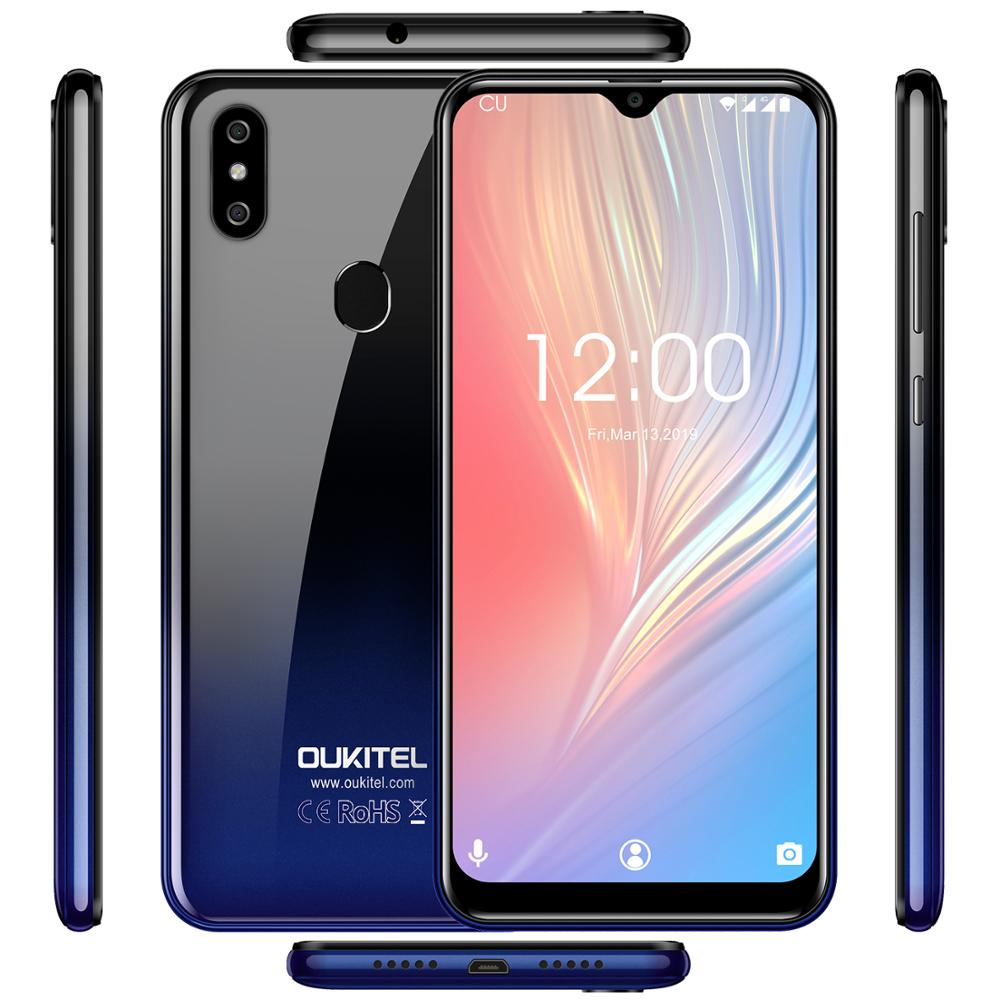 Image 5 - OUKITEL C15 Pro+ 6.088'' 3GB 32GB MT6761 Water Drop Screen 4G Smartphone C15 Pro + Fingerprint Face ID 2.4G/5G WiFi Mobile Phone-in Cellphones from Cellphones & Telecommunications