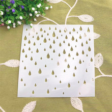 Rainwater DIY cake scrapbook stencils hollow Embellishments printing lace ruler Valentine s Day
