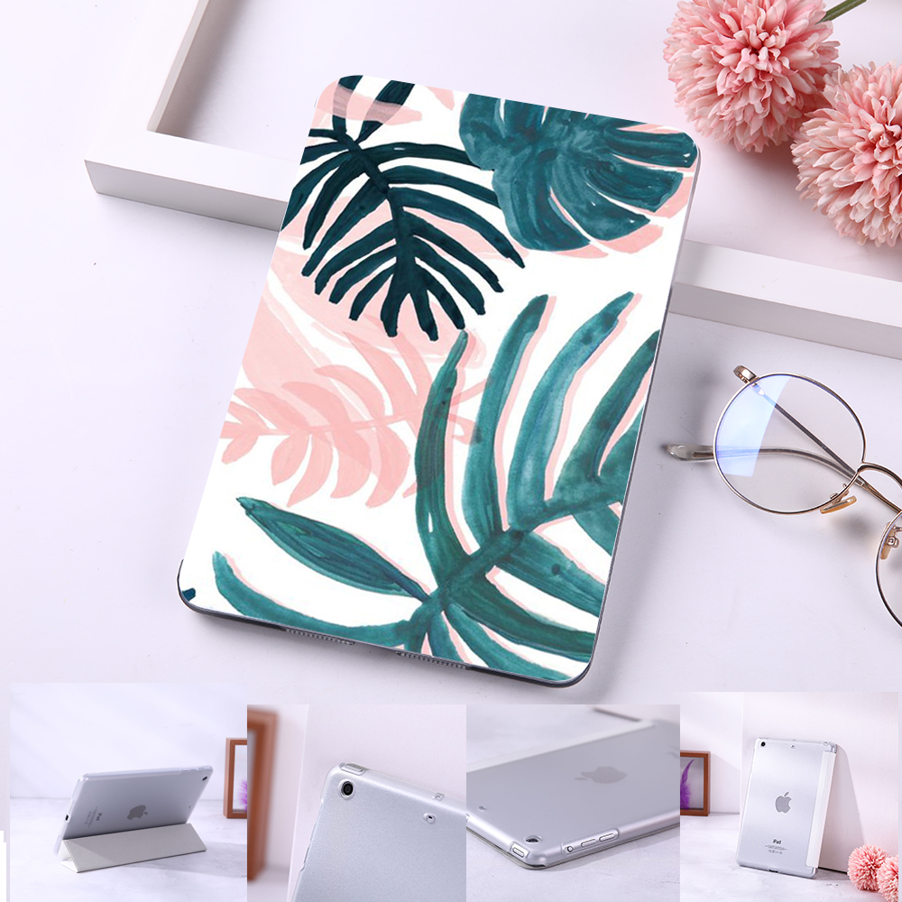 Summer Tropical Leaves Flip Case For iPad Mini 5 4 3 2 1 Tablet Case Cover Auto Auto title=