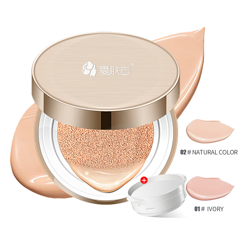 цена BB cc cream air cushion cream base concealer whitening brighten moisturizer perfect natural Foundation korean cosmetics IFZA