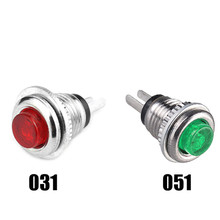 5 PC 2 Pin  Red DS-101 Micro Push Button Switch 8mm Mount Reset Momentary Cap Round  SA168 P30