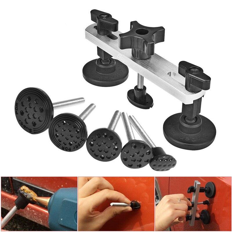 Kit de retrait de Dent sans peinture PDR Kit de retrait de Dent outil de réparation de voiture ensemble d'extracteur de pont Kit de traction de réparation de Dent enlèvement de grêle du corps