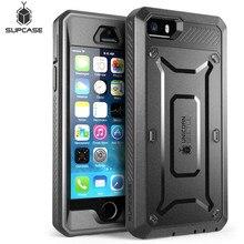 SUPCASE สำหรับ iPhone SE 5 5s กรณี UB Pro เต็มรูปแบบคลิปฝาครอบป้องกันหน้าจอ Protector