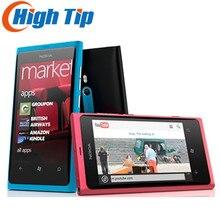 Nokia Lumia 800 разблокирована оригинальный телефон 3 г смартфон 8MP Камера Windows мобильного телефона Бесплатная доставка Восстановленное