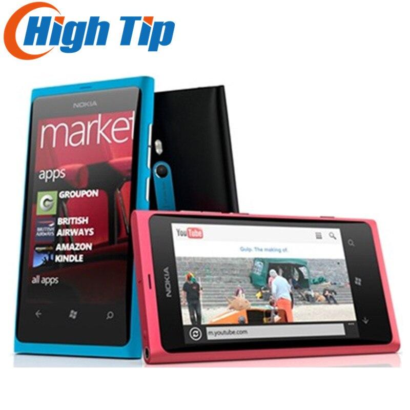 Nokia Lumia 800 Unlocked Original Phone 3G Smartphone 8MP Camera Windows Mobile Phone Free shipping Refurbished