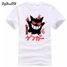 13aefd024 Pokemon Go Tshirt Men Summer Cotton T-shirt For Male Funny Gengar Print  Short Sleeve Men's Tops Hipster O-neck T Shirts
