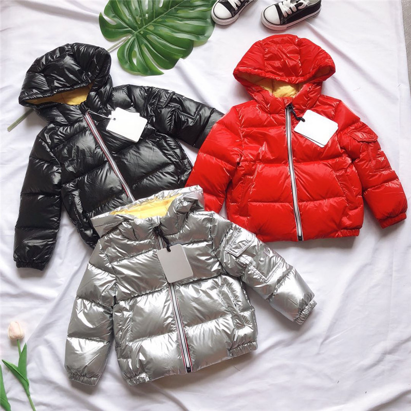 in stock Girls Down Jackets 2018 New Girl Children Down Jacket Winter Thicken Hooded Solid Long Style Outerwear Parkas Overcoat hijklnl 2017 new winter female cotton jacket long thicken coat casual korean style women parkas overcoat hyt002