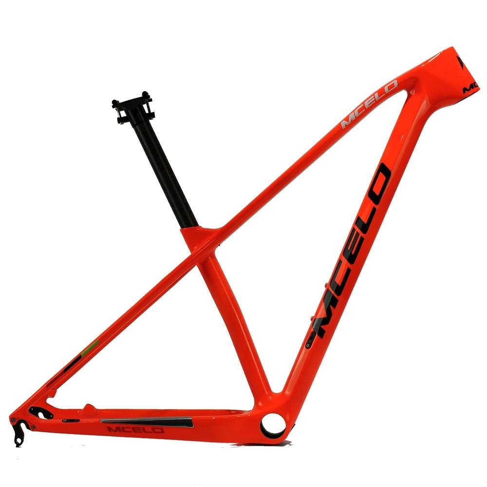 2018 MCELO carbon mtb frame 29er mtb carbon frame 29 carbon mountain bike frame 142*12mm thru axle &135*9mm QR bicycle frame carbon frame mountain bike frame 26inch bike frame bicycle frame