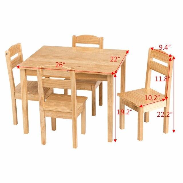 5 Piece Children's Table/Chair Set  5
