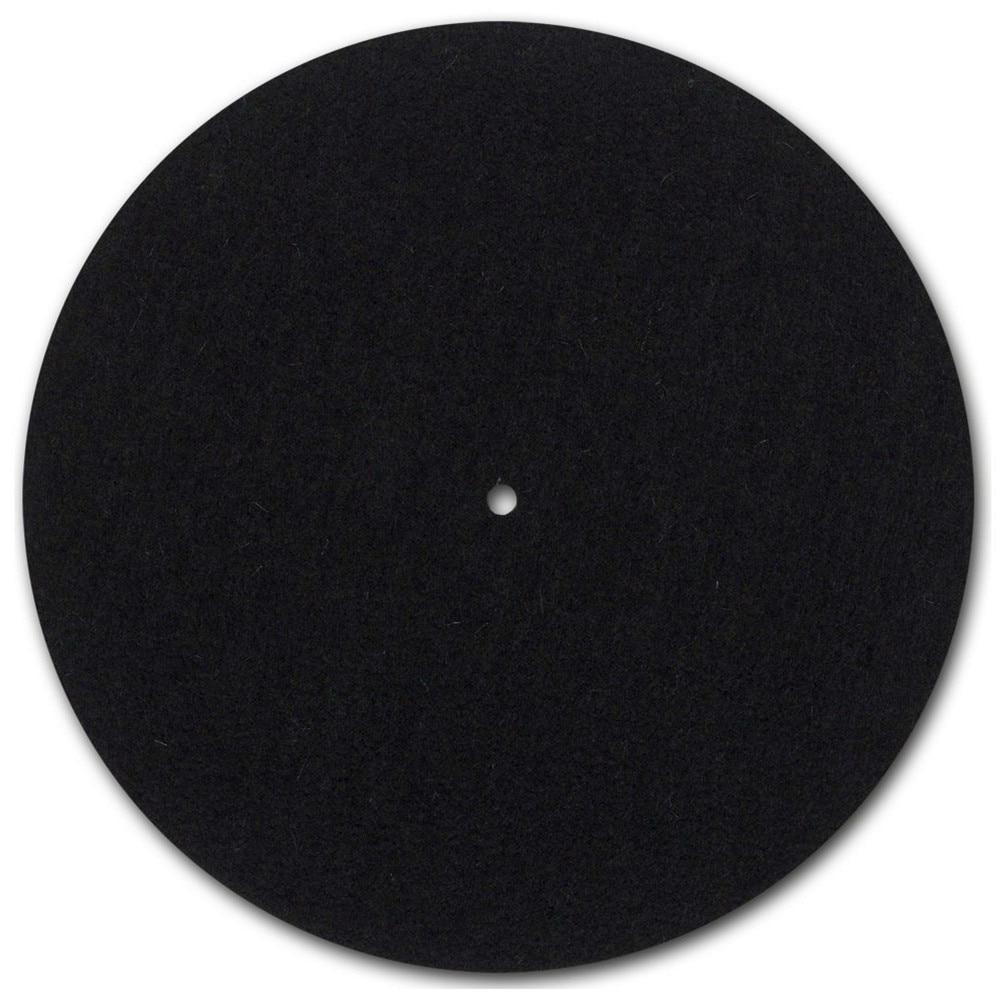 Mistral Feutrine Platine Vinyl Plateau Tapis LP Slip Mat Audiophile 3mm épais Feutrine pour LP Disque Vinyle