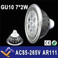 GU10  ES111 QR111 AR111 LED lamp 14W Spotlights Warm White /Nature White/Cool White Input AC 85-265V   3 years warranty