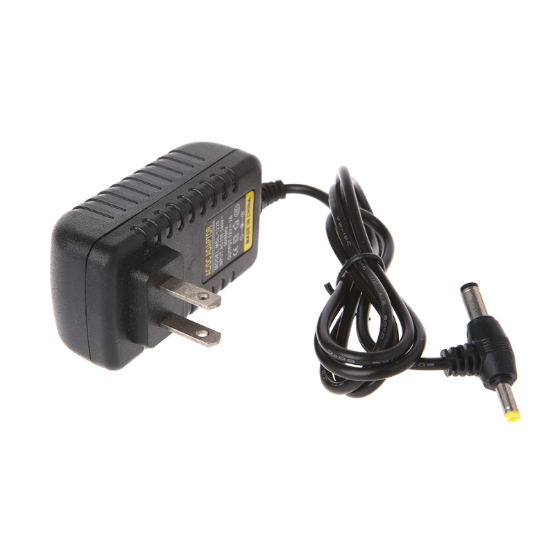 12V 2A AC 100-240V Converter Adapter DC 5.5*2.1mm + 4.0*1.7mm Power Supply Cable