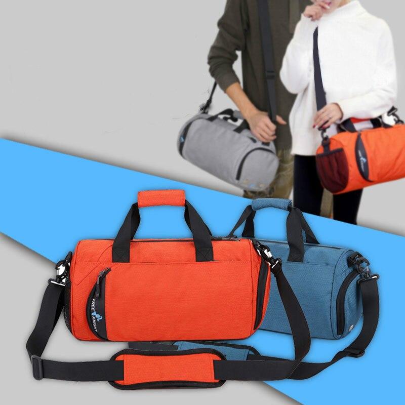 Бесплатная доставка, новинка, водонепроницаемая Мужская спортивная сумка для тренажерного зала, сумка для отдыха, йоги, фитнеса, Женская дорожная сумка, тренировочная спортивная сумка