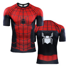 Spider Man Far From Home 3D Printed T shirts Cosplay Spider-Man Peter Parker Marvel Superhero T-shirt Tops short Sleeve Costume