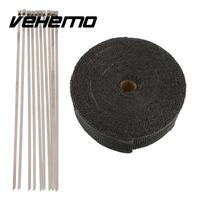 Fiberglass Heat Exhaust Thermo Header Pipe Turbo Downpipe Wrap Shield Protection Tape 2 X 10m Fireproof