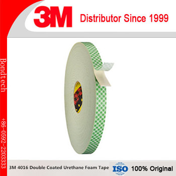 3M 4016 Double Coated Urethane Foam Tape Natural, 12.7MM*33M