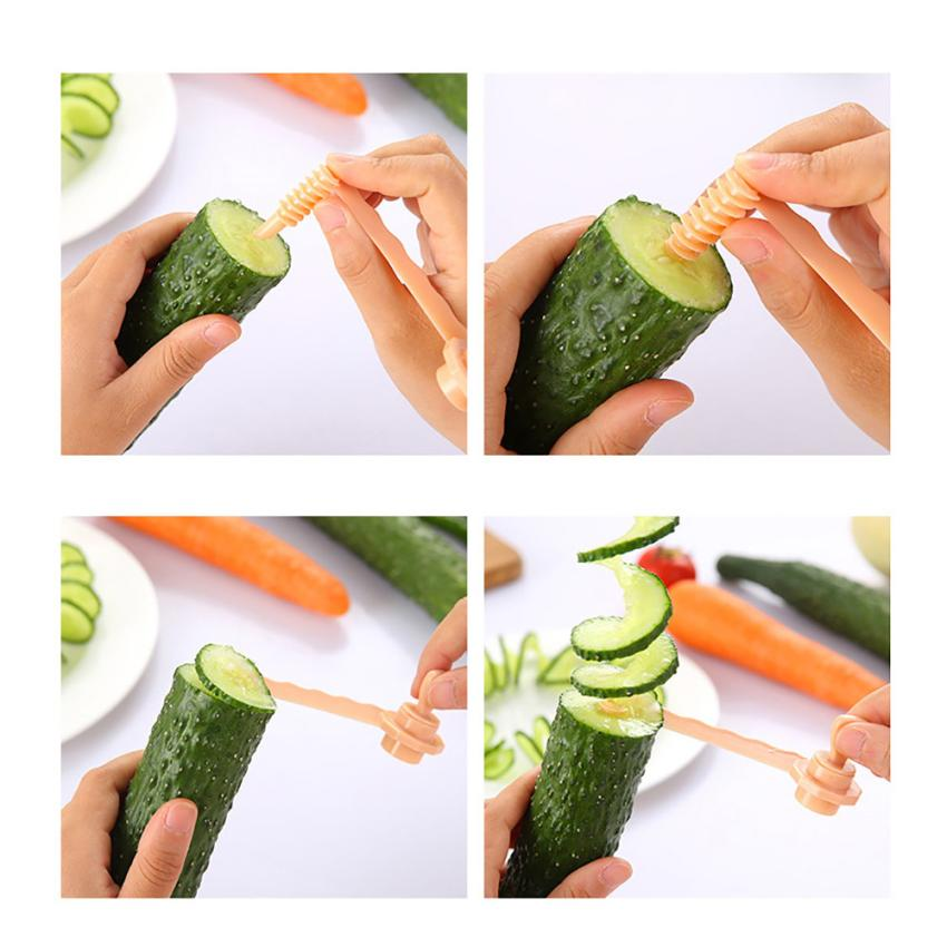 Волшебный картофель резак для моркови спиральный слайсер резки модели кухонные инструменты для приготовления пищи