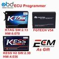 Nueva V2.30 V2.13 + KESS V2 Y FGTech V54 KTAG ECU Programador K TAG V6.070 FG Tecnología Galletto 4 V4.036 OBD2 KESS Chip Tuning Kit