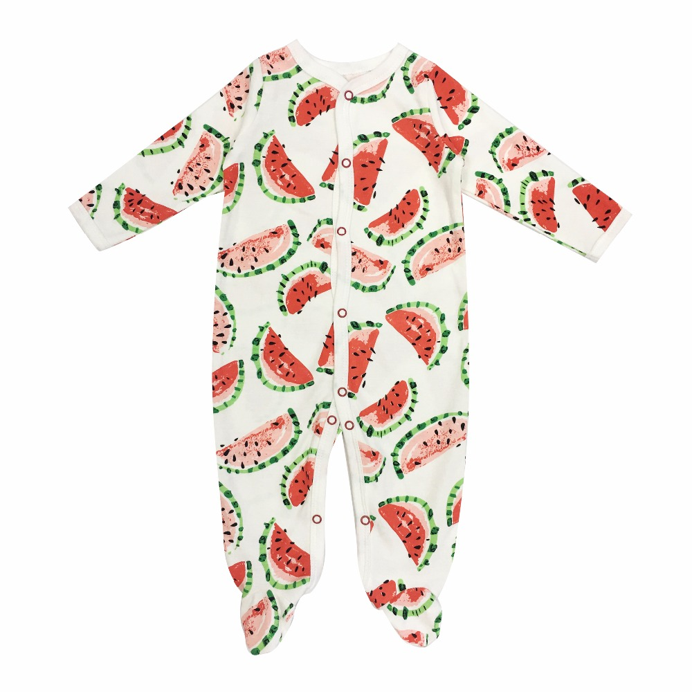 Baby Romper 100% Cotton Long Sleeves Baby Clothing Comfortable Baby Pajamas Newborn Baby Clothes