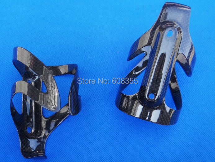 Carbon glossy MTB Mountain Road bike bicycle water Bottle cage - 2 Pcs Cages BC16 bicycle pedal