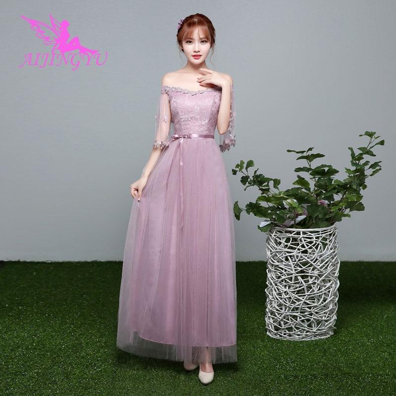 AIJINGYU 2018 plus size bridesmaid dresses short wedding party dress BN655