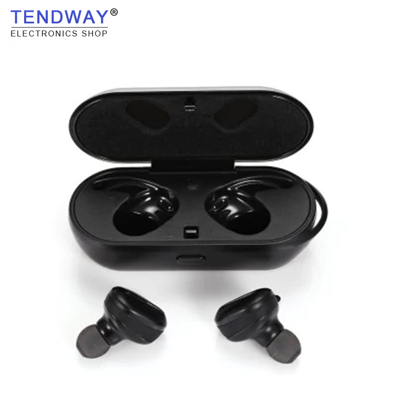 True Wireless Bluetooth Earphones With Charger Box Air-TWS Earbuds With Mic Portable Mini Smallest Handsfree Ecouteur IP7