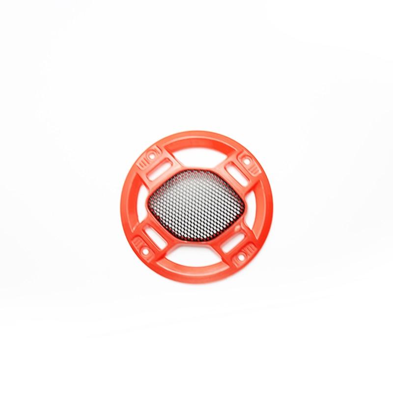 Lautsprecher Kombination-lautsprecher Hart Arbeitend Rot 4 Zoll Kreis Perforierten Metall Siebgewebe Lautsprecher Grill Lautsprecher Netzabdeckung StraßEnpreis