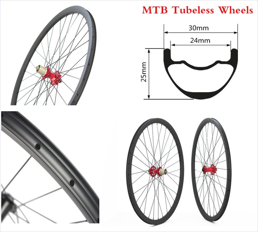 30mm Wide Profile Cyclocross Novatec DT Hub 27.5 29er Decals Bike Carbon MTB Mountain Wheels carbon mountain bike wheels