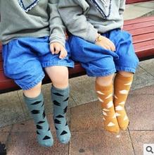 2016 INS hot meias thick children tights autumn winter baby cartoon tree kids knee high socks boys girls leg warmers 0-2 3-4y