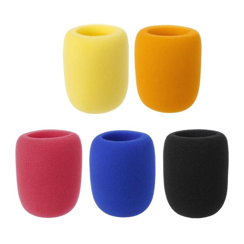 new soft thicken microphone foam mic cover sponge cap studio protective grill shield in. Black Bedroom Furniture Sets. Home Design Ideas