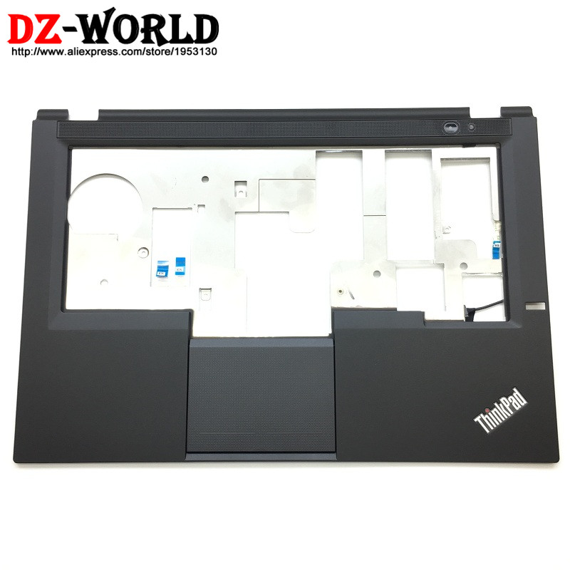 New Original For Lenovo ThinkPad T430U Keyboard Bezel Palmrest Cover With Touchpad Speaker And Connecting Cables 04Y1250 04W4370