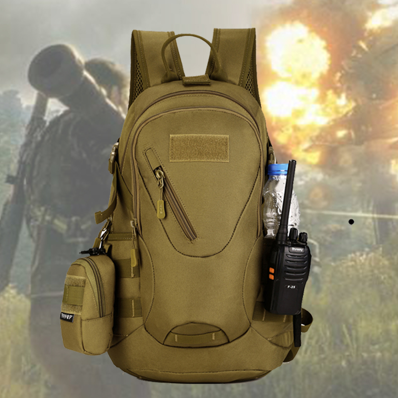 INDEPMAN Outdoor 20L Sport Bags Tactical Bag Military Waterproof backpack Hunting Camping Hiking Tactical Travel Backpack outdoor backpack tactical military backpack camping hiking camouflage sport bag travel bags 20 35l mochilas
