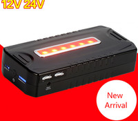12V 24V Car Jump Starter 23000mAh Battery Charger 400A 800A For Laptop Power Bank Multi Funtion