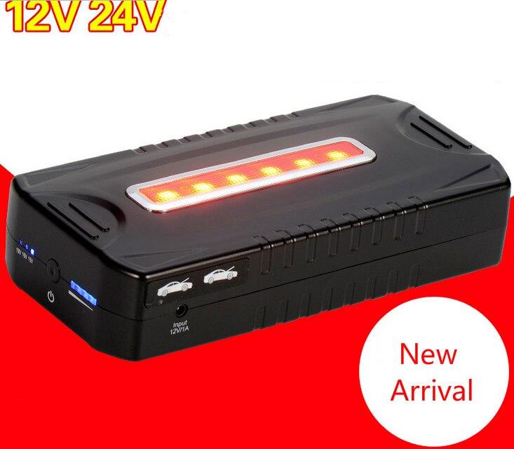 High Power 12V 24V font b Car b font Jump Starter 23000mAh font b battery b